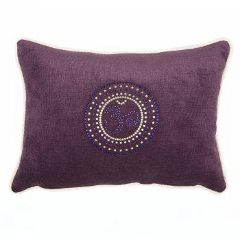 Chakra Kissen KronenChakra violett