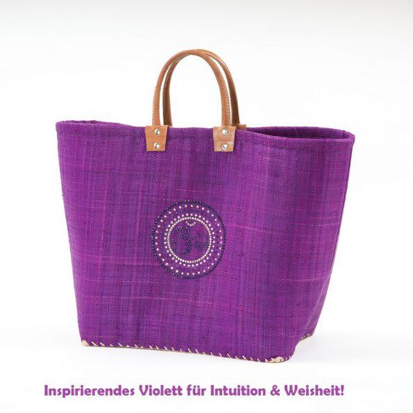Chakrafarbe Violett Scheitelchakra