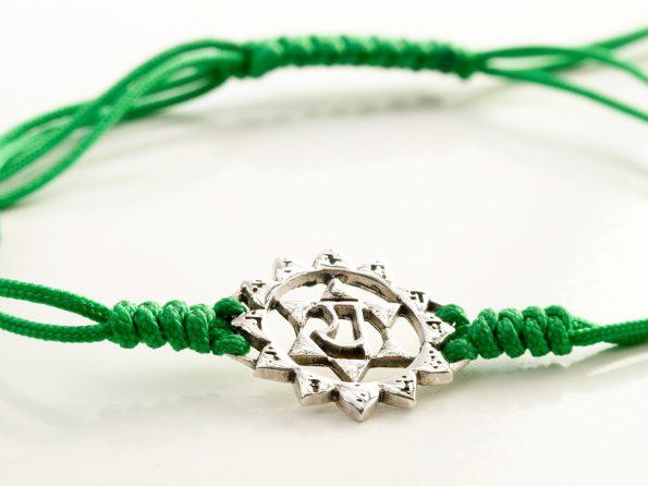 Chakra Symbol Anahata 925er Silber