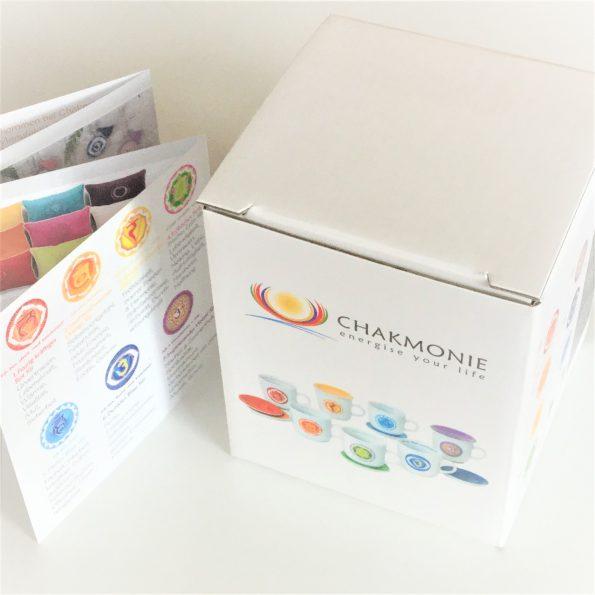 Chakra Tassen Karton Chakra Tasse Verpackung