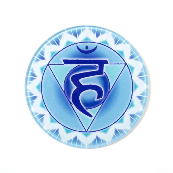 Chakra Untersetzer KehlChakra Symbol