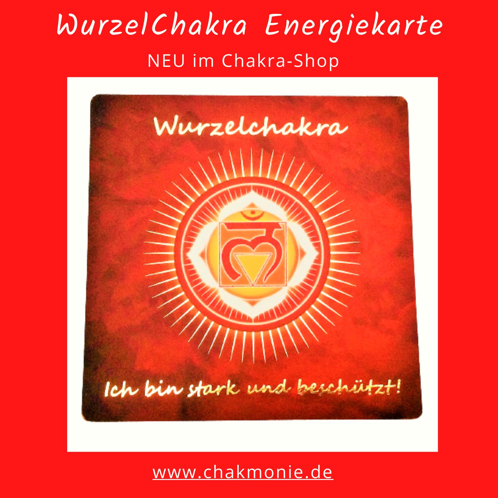 WurzelChakra Energiekarte