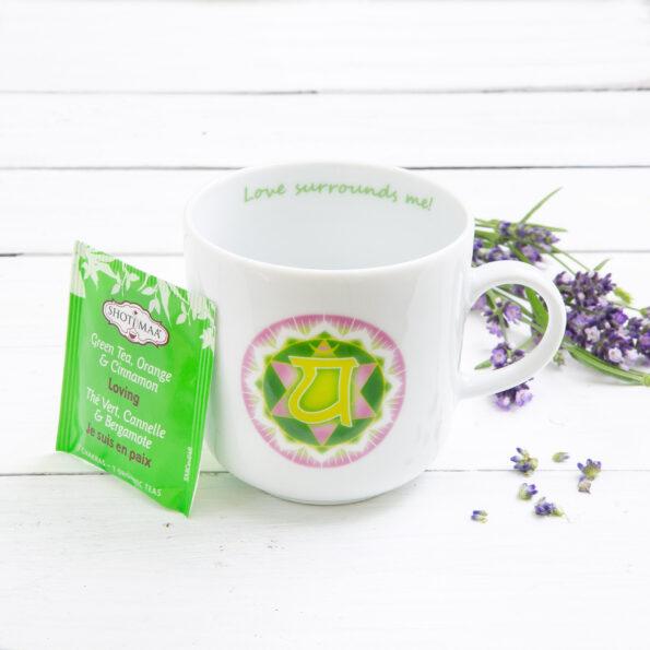 Chakra Design Mug HeartChakra Anahata