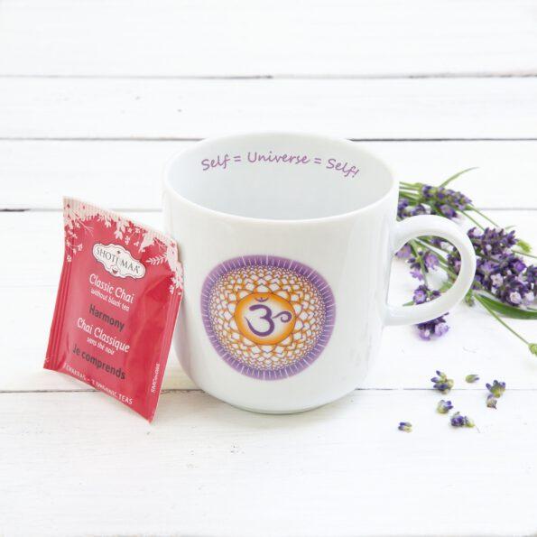 Chakra Design Mug CrownChakra